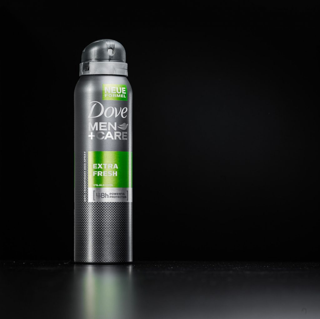Produktfotografie Deodorant
